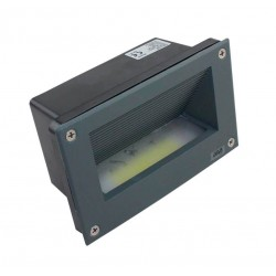 Baliza LED empotrable pared 3W  IP65