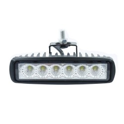 Foco Proyector LED 18W Rectangular 12/24V para VEHICULOS