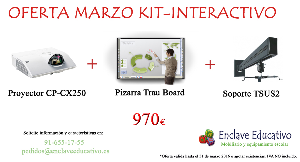 KIT-INTERACTIVO LOW COST